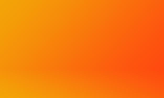 Fondo de estudio naranja degradado Foto Premium