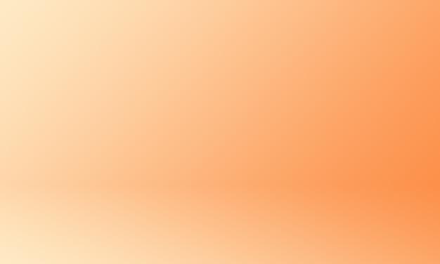 Fondo de estudio naranja degradado