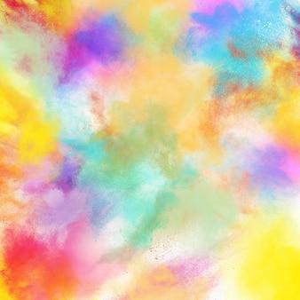 Fondo de explosión de colores de primavera