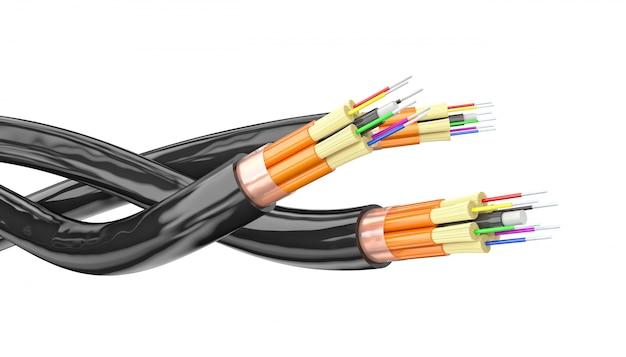 Fondo de fibra óptica