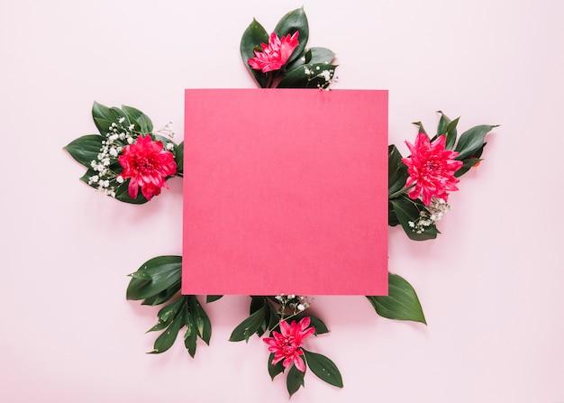 Fondo de flores