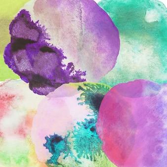 Fondo del fondo abstracto del color de agua del chapoteo