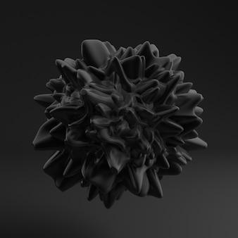Fondo con forma negra, textura.