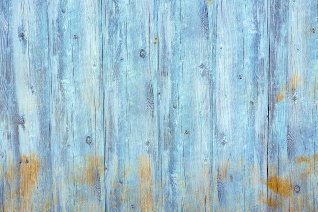 Fondo de foto de madera sucia degradado azul claro