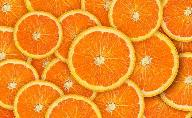 Fondo de fruta naranja