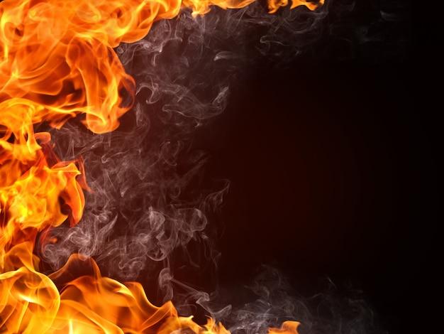 Fondo de fuego