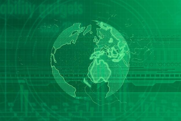 Fondo futurista digital moderno