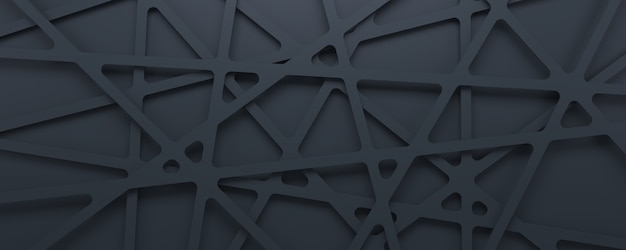 Fondo geométrico gris abstracto del modelo de la textura 3d.
