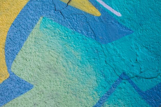 Fondo de graffiti mural colorido