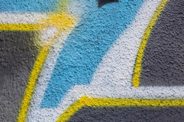 Fondo de graffiti mural creativo abstracto