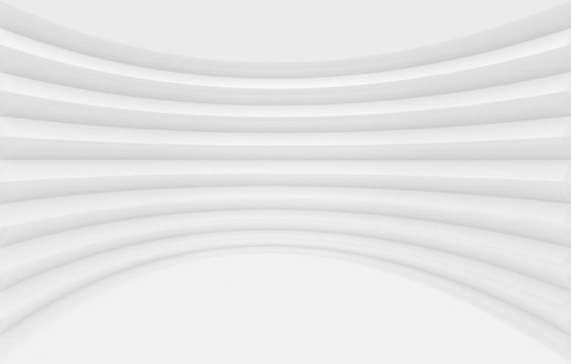 Fondo gris moderno de la pared del panel de la curva.