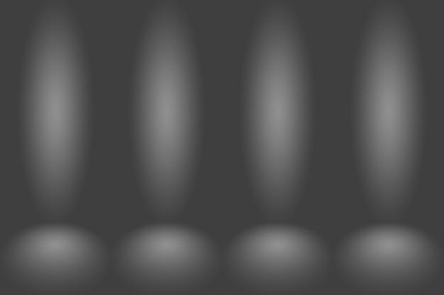 Fondo gris oscuro abstracto espacio en blanco pared degradado oscuro gris oscuro habitación vacía estudio degradado usado ...