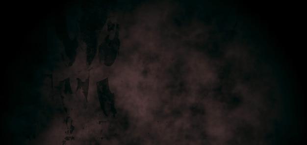 Fondo de grunge antiguo, cemento oscuro con grietas