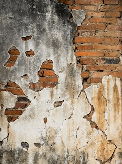 Fondo de grunge de pared de ladrillo