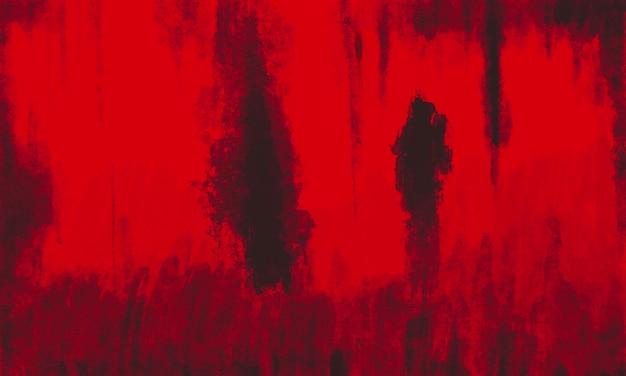 Fondo de grunge de pintura roja