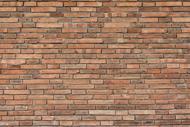Fondo de grunge de textura de pared de ladrillo rojo para diseño de interiores