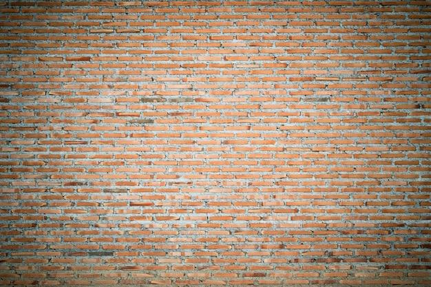 Fondo de grunge de textura de pared de ladrillo rojo, para diseño de interiores