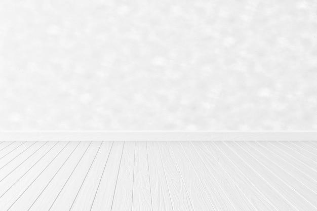 Fondo de la habitación interior blanca vacía