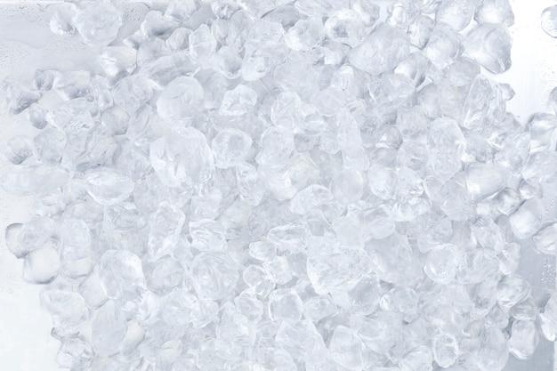 Fondo de hielo picado