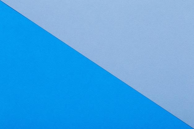 Fondo de hojas azules de cartón