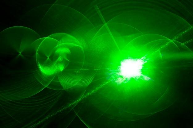 Fondo horizontal láser óptico