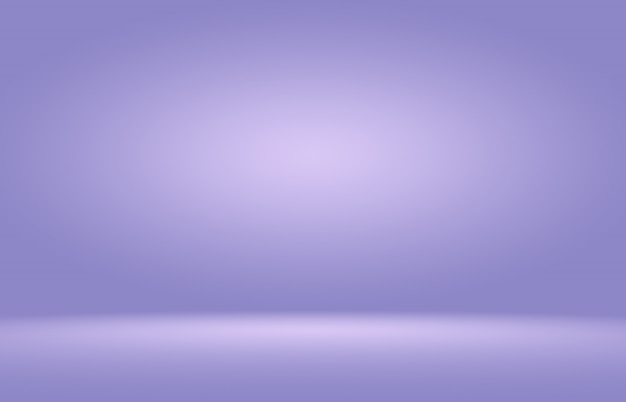 Fondo interior de sala de telón de fondo púrpura abstracto liso