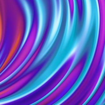Fondo iridiscente líquido abstracto