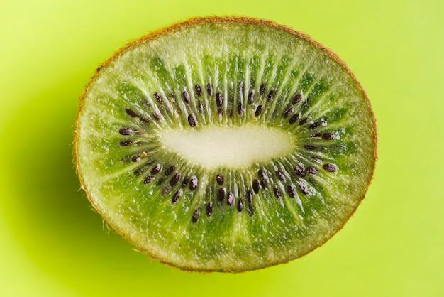 Fondo de kiwi de cerca