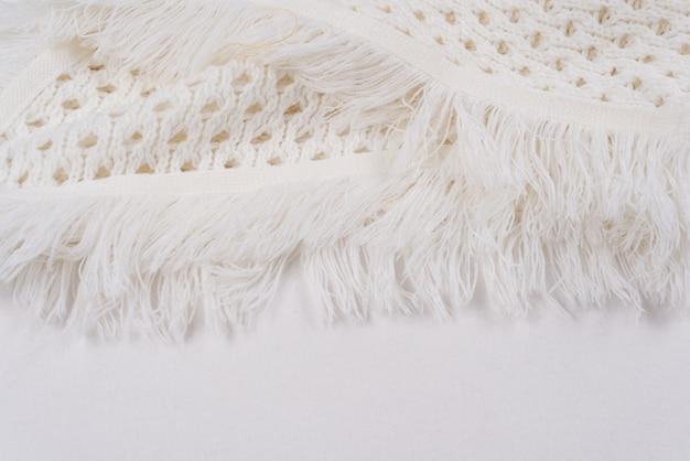 Fondo de lana de punto - tejido de invierno con textura ligera