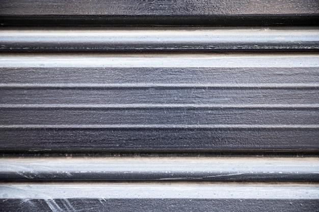 Fondo de líneas horizontales de metal inoxidable