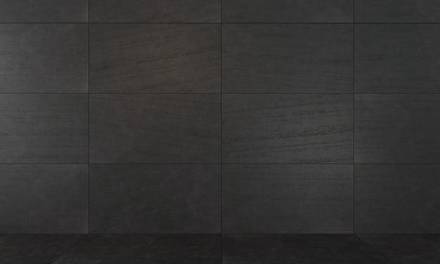 Fondo de losas de hormigón decorativas oscuras.