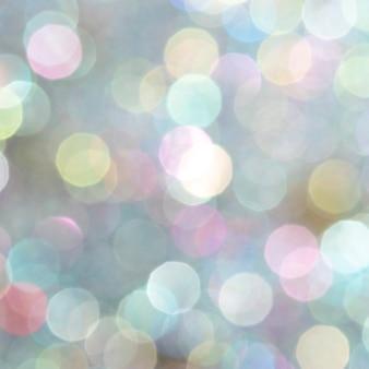 Fondo de luces borrosas bokeh abstracto