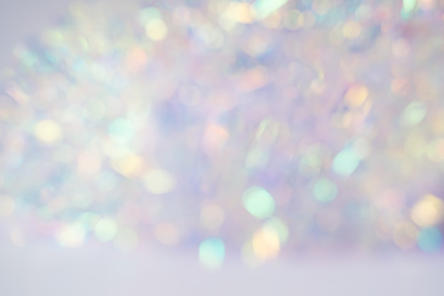 Fondo de luces de navidad azul