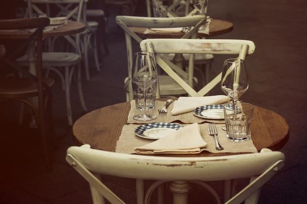 Fondo lugar cena al aire libre de turismo