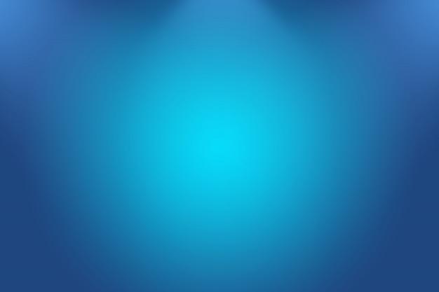 Fondo de lujo abstracto azul degradado. liso azul oscuro con viñeta negra studio banner.