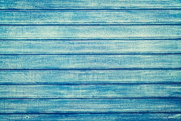 Fondo de madera azul vintage