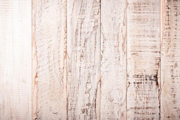 Fondo de madera blanco viejo grunge