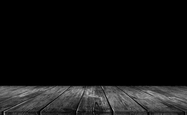 Fondo de madera negra