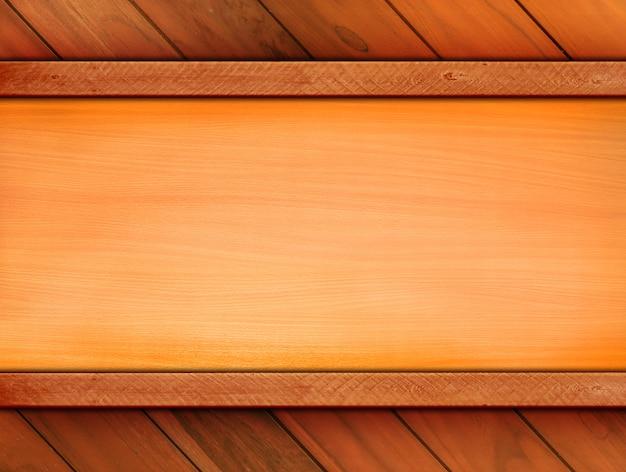 Fondo de madera vintage con madera decorativa para plantilla