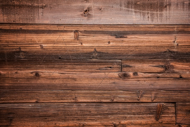 El fondo de madera