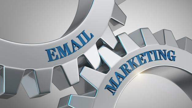 Fondo de marketing por correo electrónico