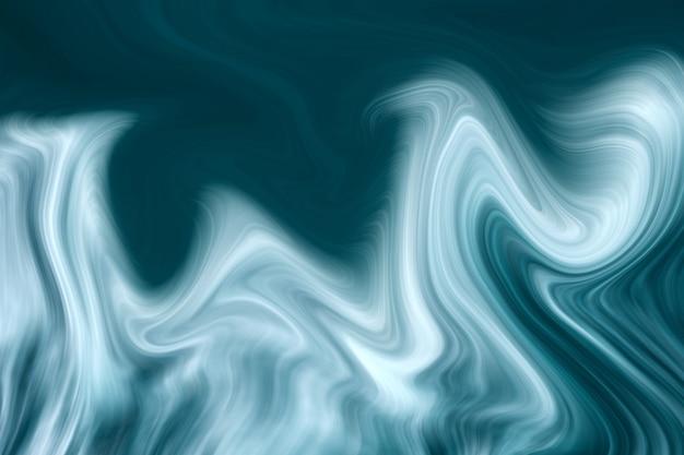 Fondo de mármol líquido azul de lujo