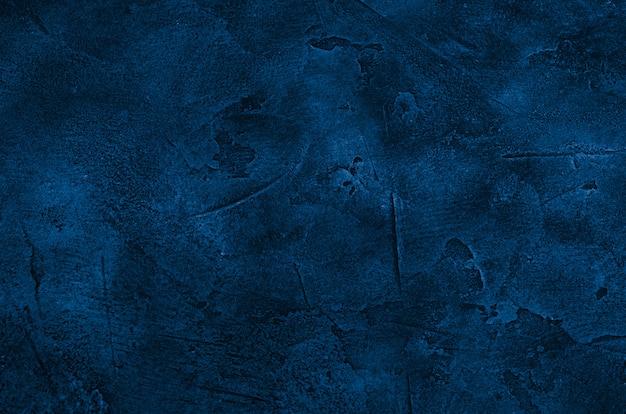 Fondo de mármol u hormigón de color azul clásico