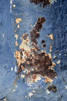 Fondo de material metálico marrón oxidado