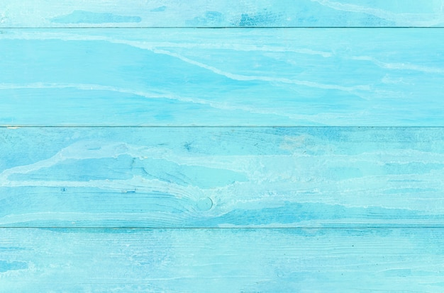 Fondo de mesa de madera azul