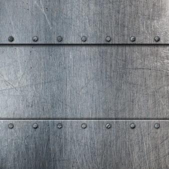 Fondo de metal rayado