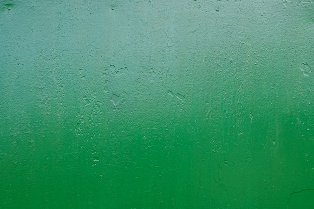 Fondo de metal verde. vierte pintura textura de metal