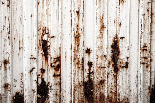 Fondo metálico oxidado vintage