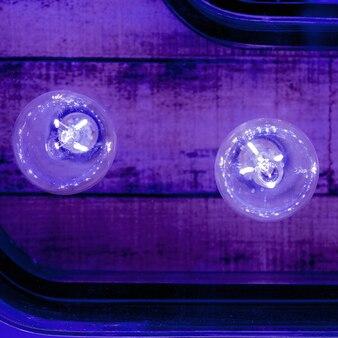 Fondo minimalista. bombillas colores diseño arte