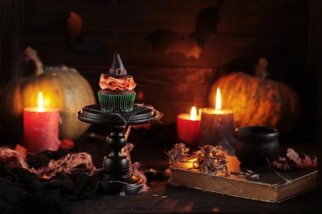 Fondo místico de halloween
